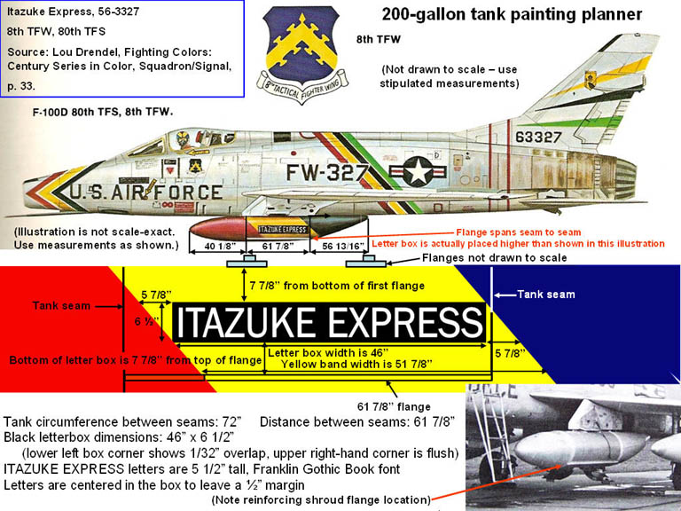 Illustration of the Itazuke Express color scheme. Click on the picture to enlarge it.