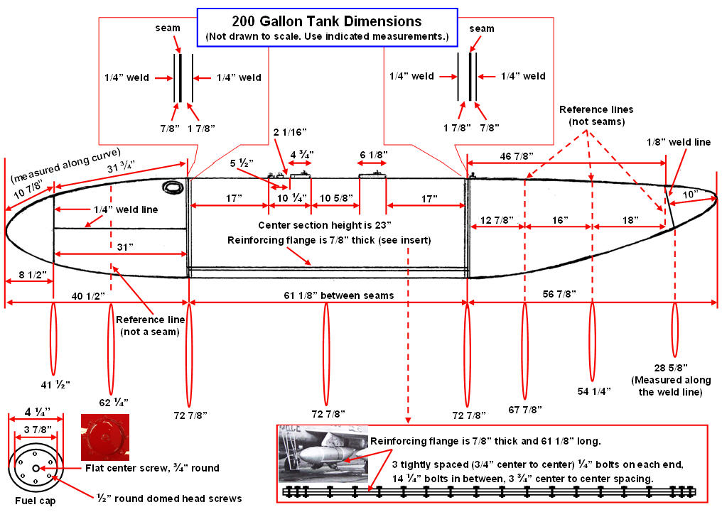 200-gallon tank dimensions. Click on the picture to enlarge it.